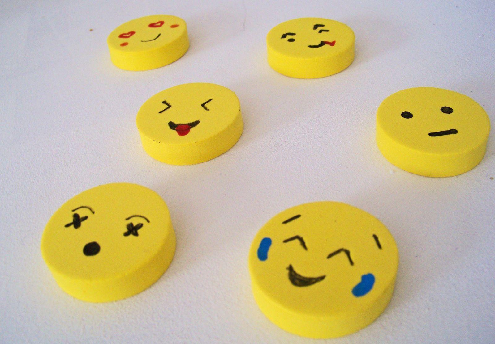 Faire des Emoticones aimantés pour afficher son humeur