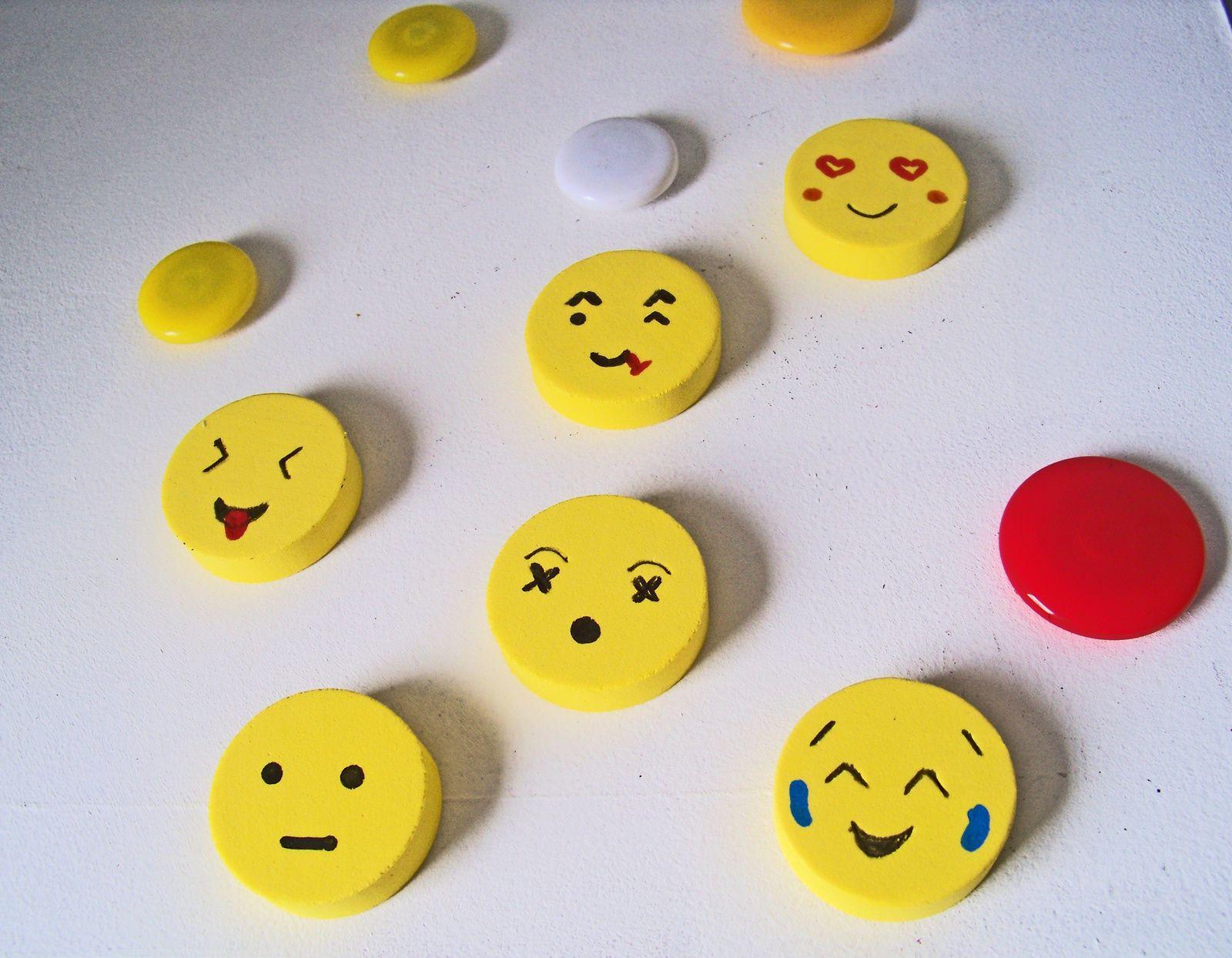 Faire des Emoticônes aimantés pour afficher son humeur .