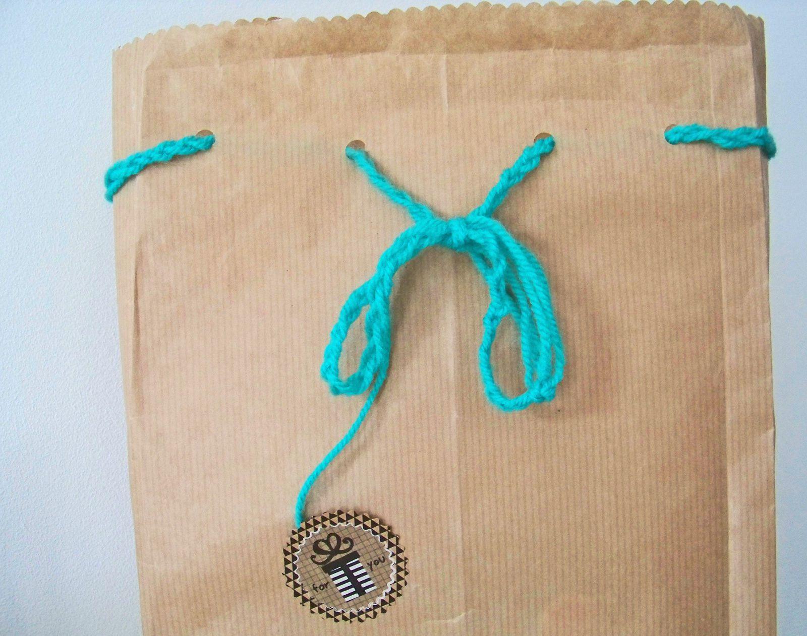 Pochettes cadeaux en papier kraft !