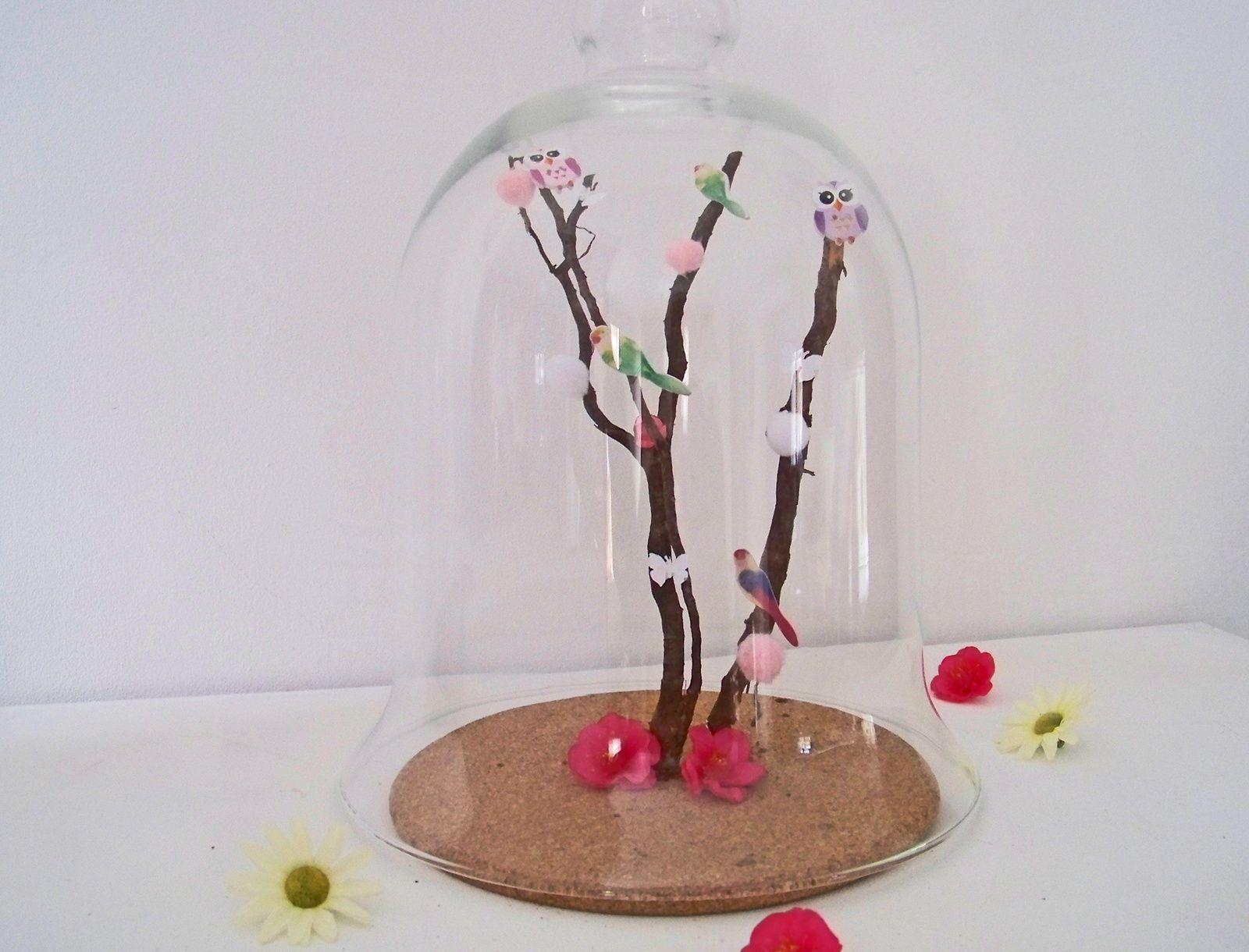 L'arbre aux perroquets sous cloche !