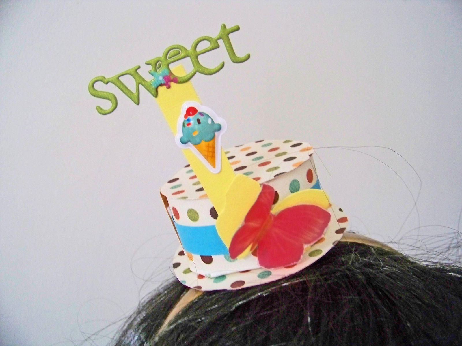DIY  : Un headband pour Mardi gras !!