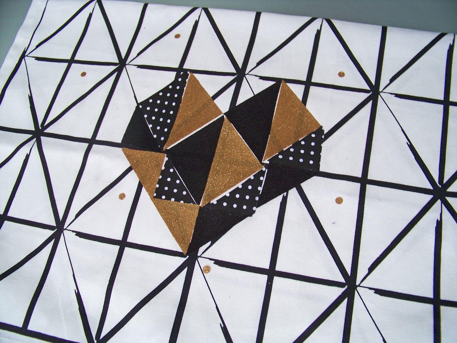 Un coeur géométrique pour la St valentin