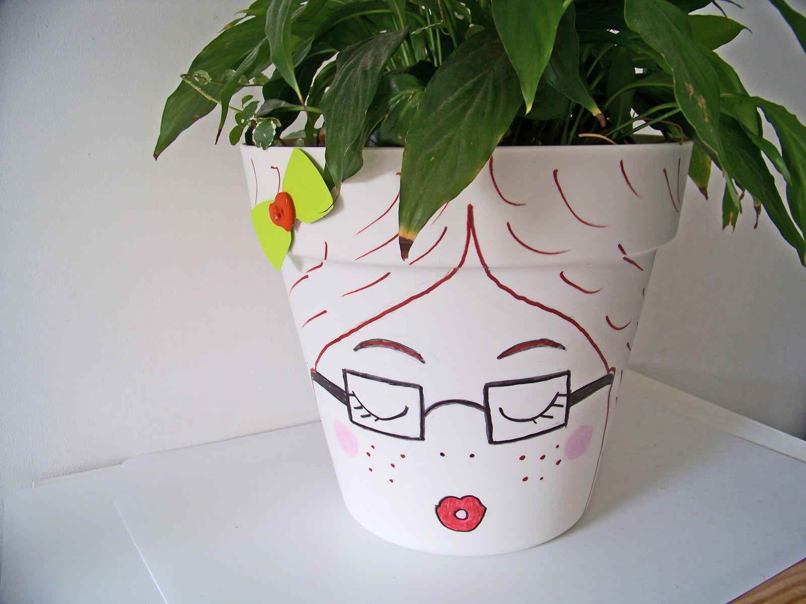 DIY :Décorer ses pots de fleurs !!