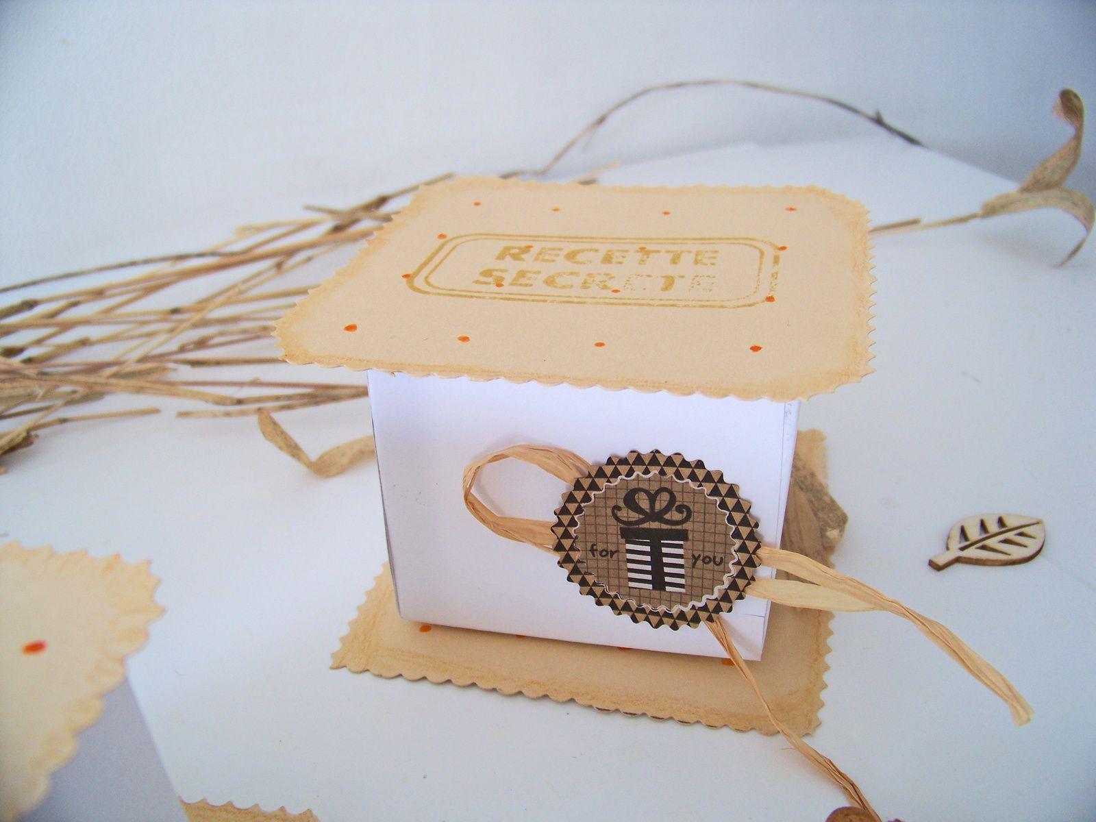 DIY: des boîtes sur mesure pour offrir nos biscuits préférés .