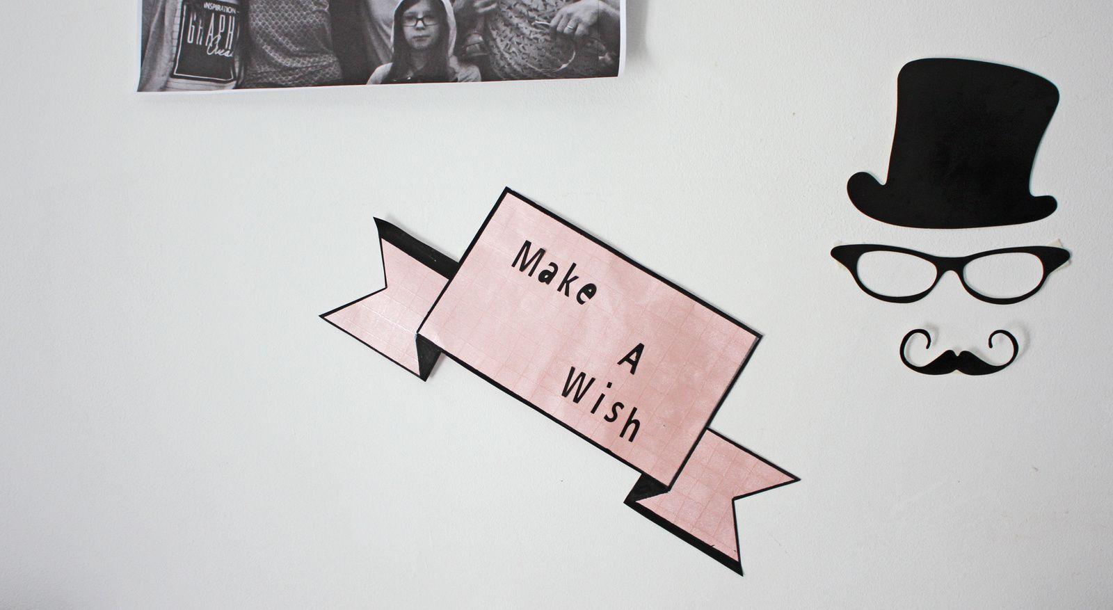 Fabriquer une bannière à message !