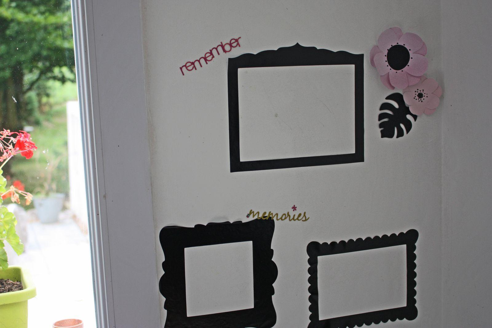 Comment optimiser l'angle d'un mur en y épinglant quelques souvenirs !