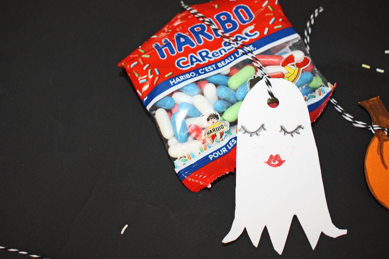 Des fantomes kawaï  pour halloween !