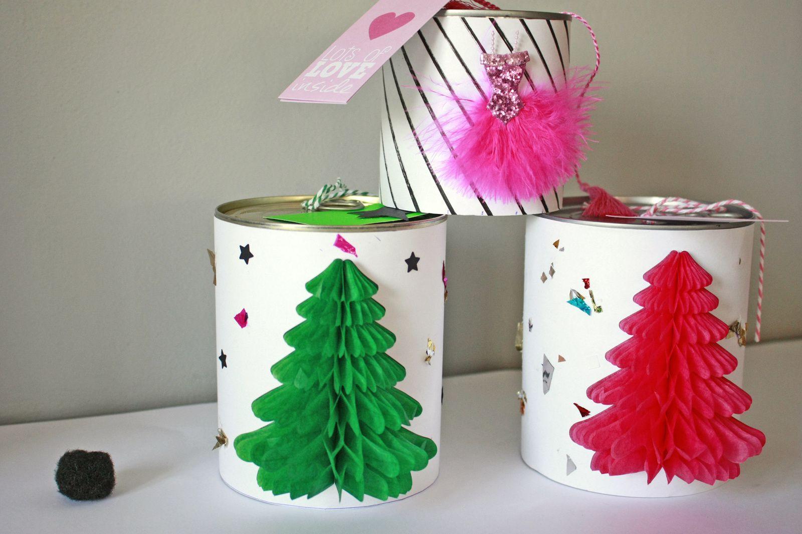 Personnaliser ses boîtes cadeaux pour un noêl récup !