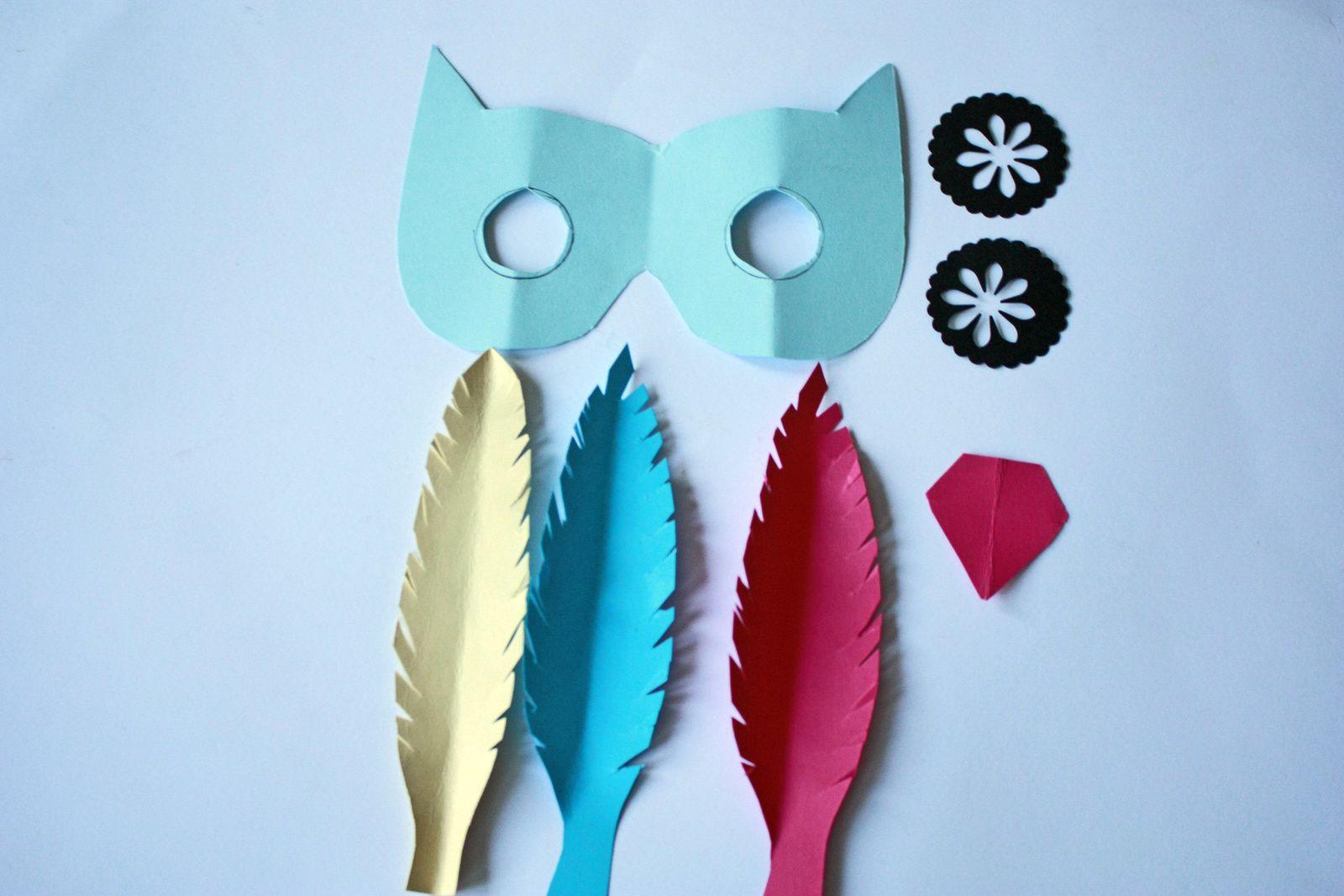 Masques en papier : Diy