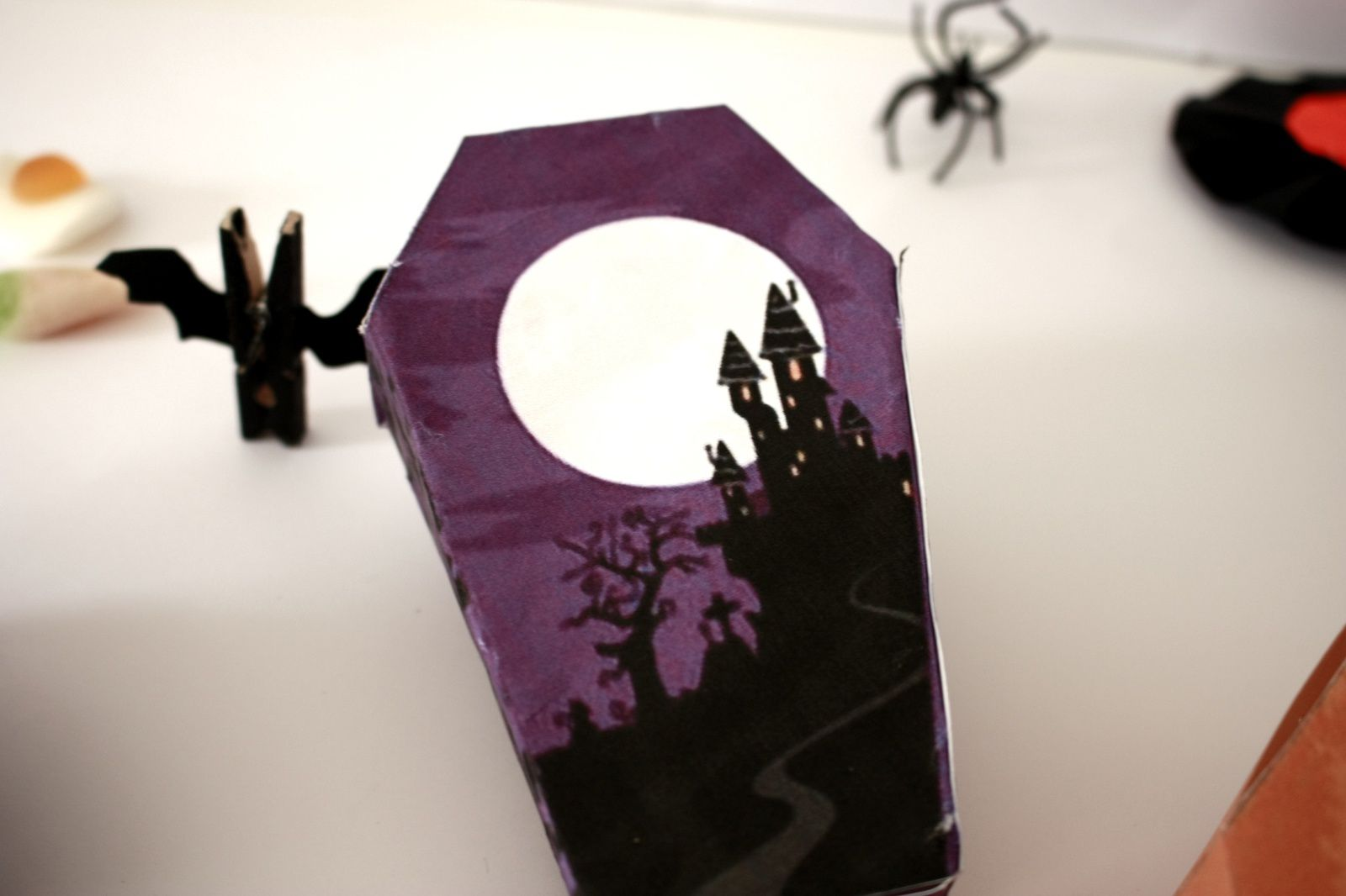 Des boîtes cercueil pour halloween !