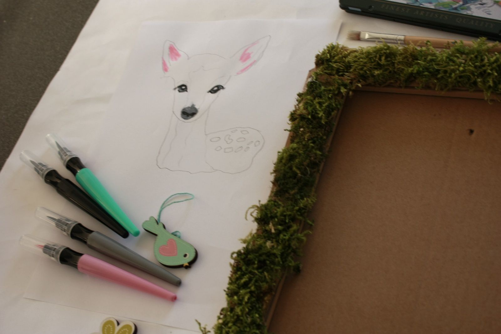 Diy :Un cadre végétal