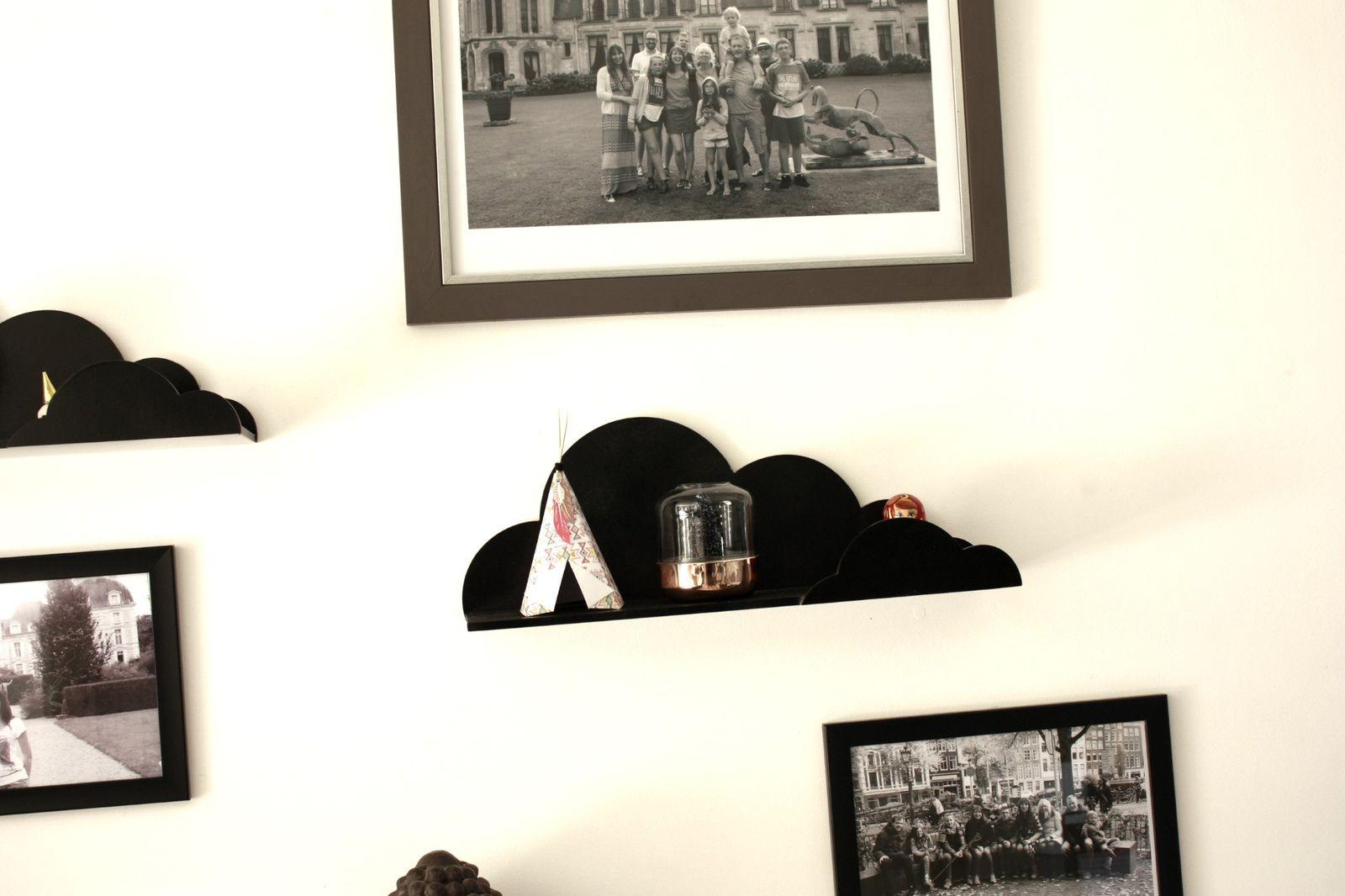 Mon  mur en noir et blanc !