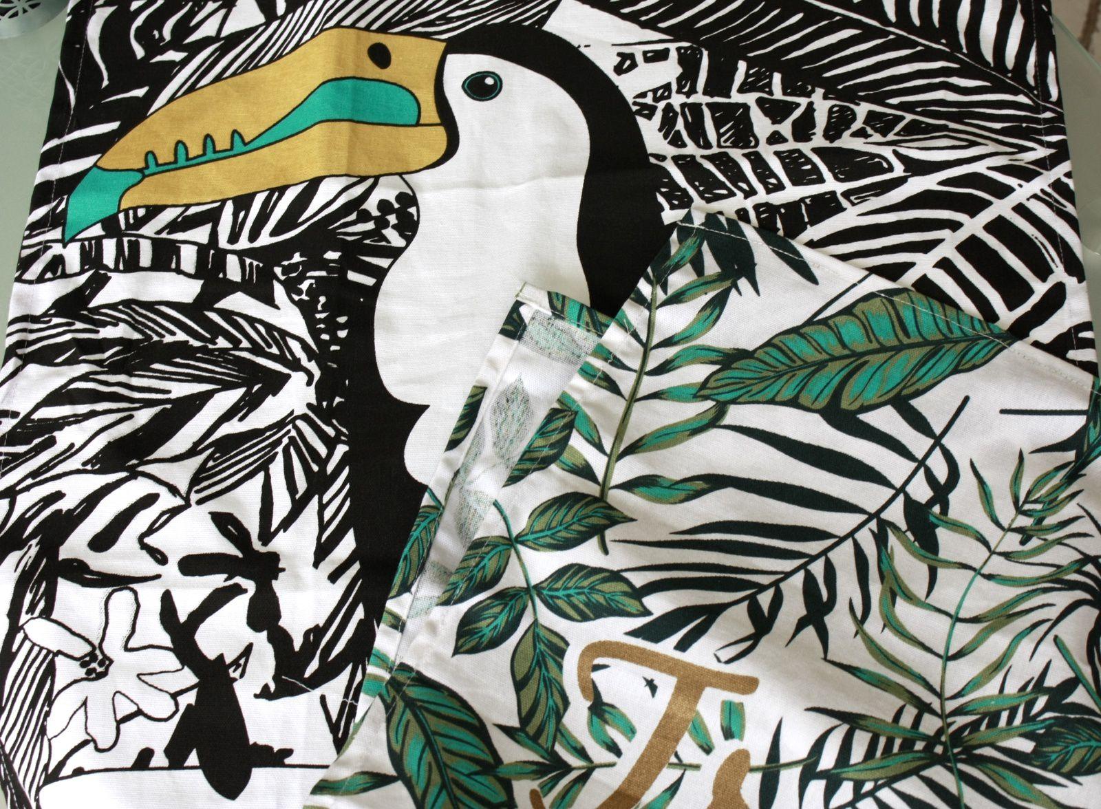 Faire des coussins à l'esprit tropical !!!