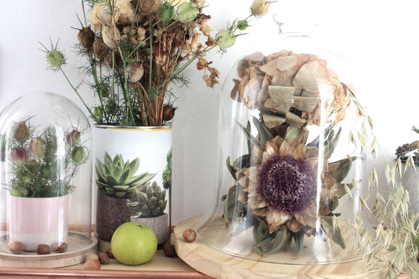 Comment intégrer les fleurs séchées dans la déco !