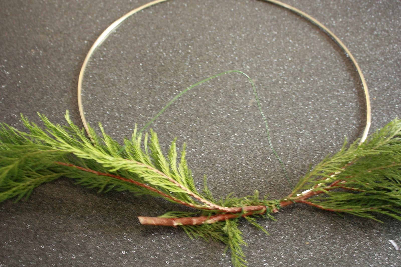 """Une couronne de Noël  """"esprits de la forêt"""""""