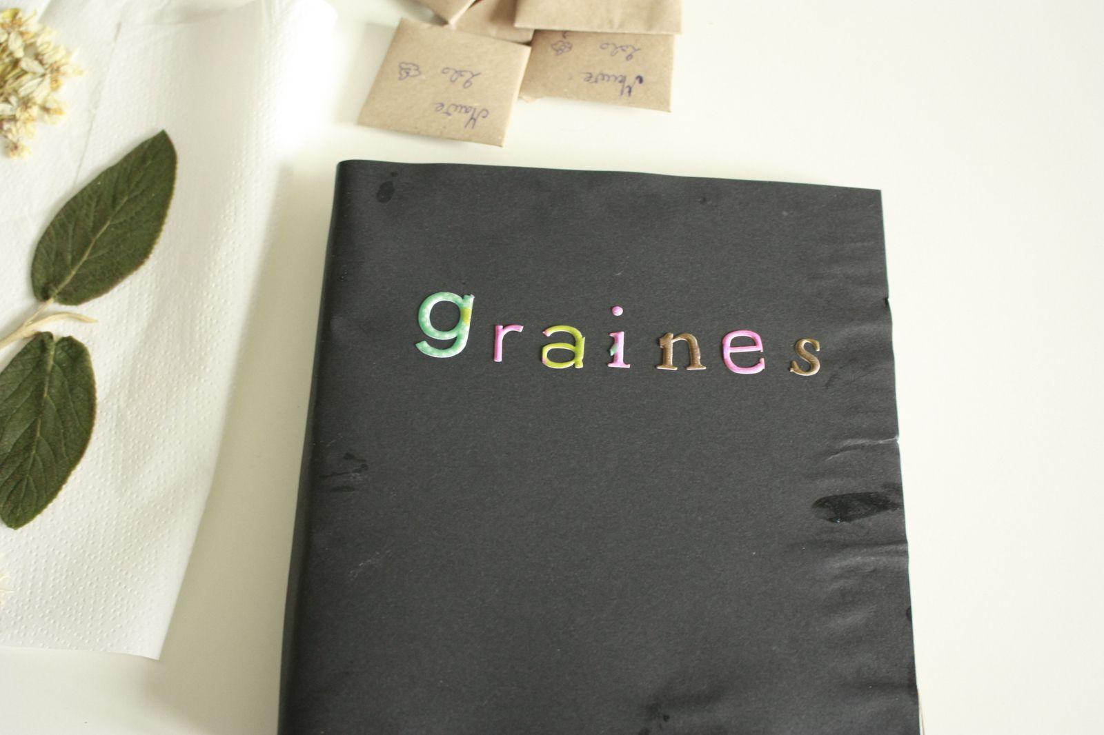 DIY nature ou ranger les graines récoltées !!