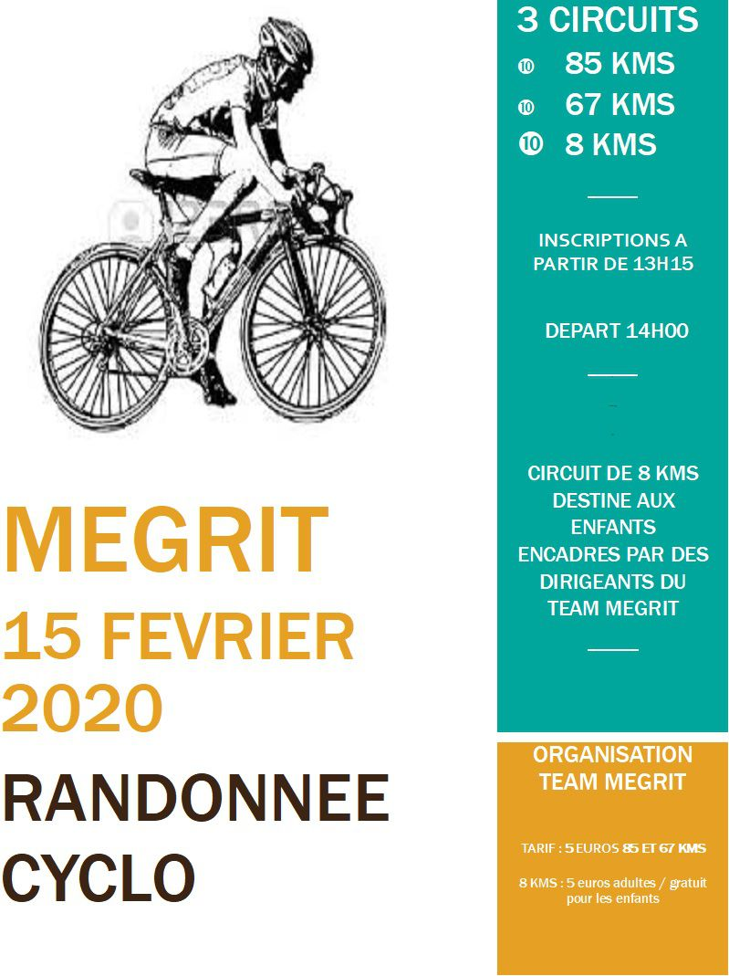 Rando cyclo TEAM MEGRIT