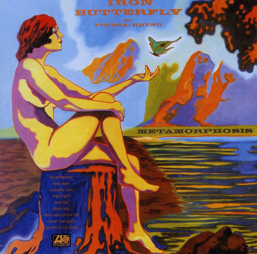 "Article : Album ""Metamorphosis"" d'Iron Butterfly - Givemesomemusic"