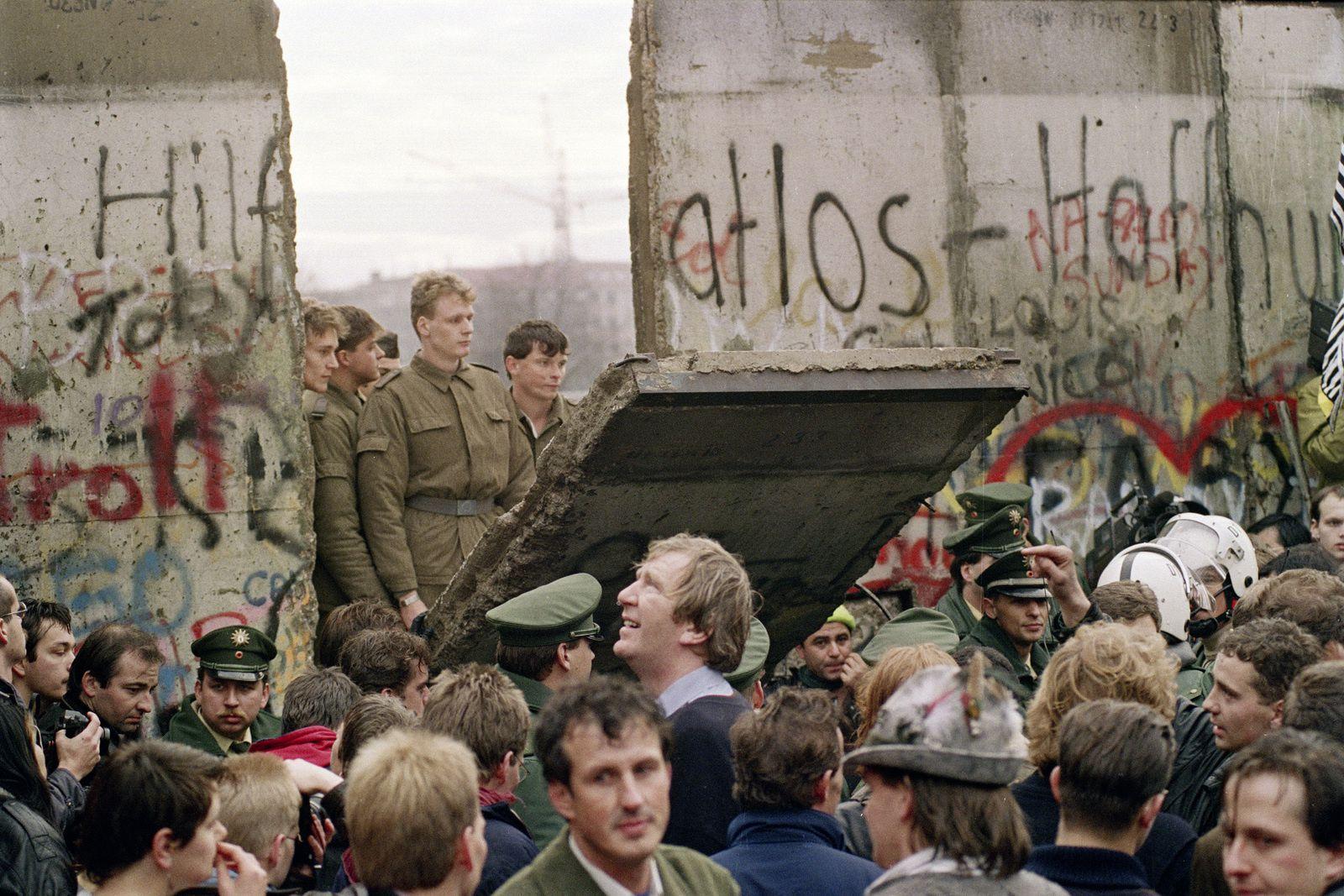 Il y a encore d'autres murs que celui de Berlin