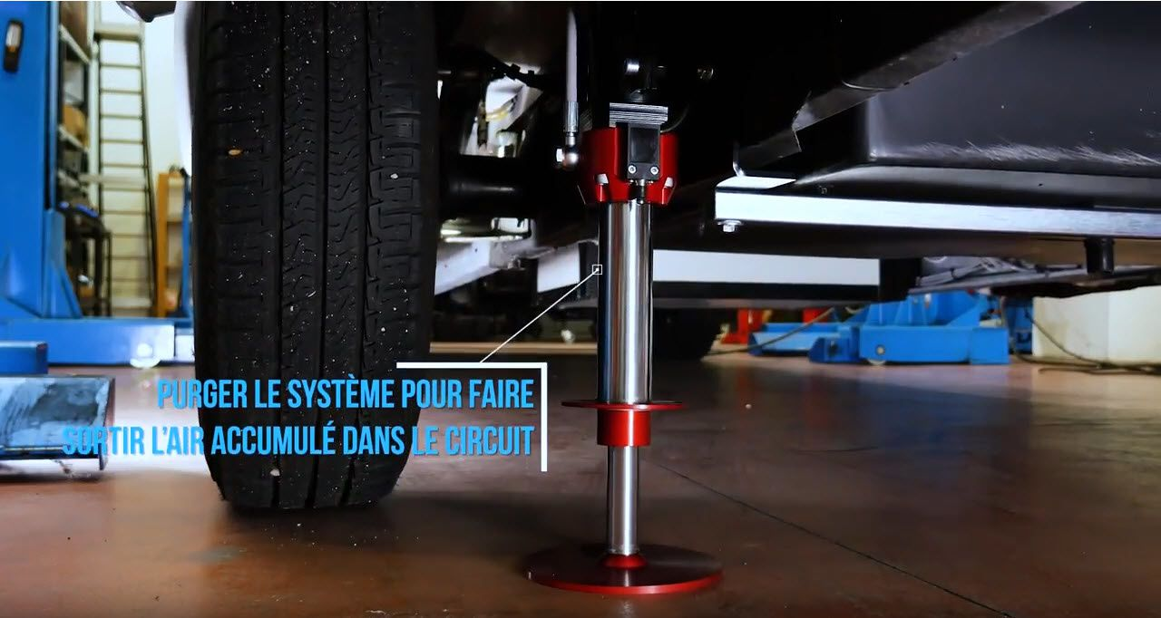 Systemes hydrauliques AMPLO kit complet verins mise a niveau horizontale camping car by AMI RESEAU