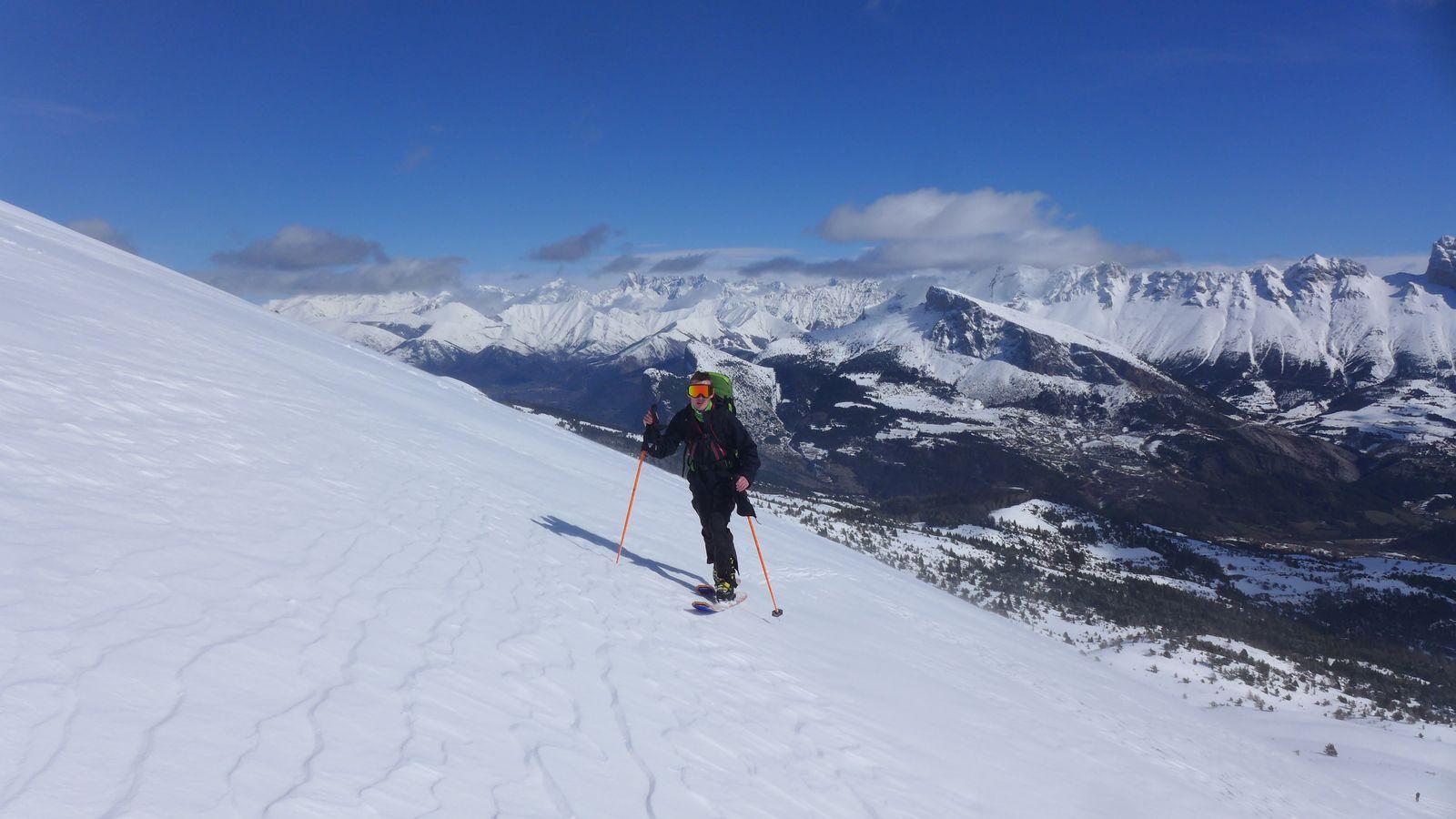 ski de rando CAF Grenoble jeunes