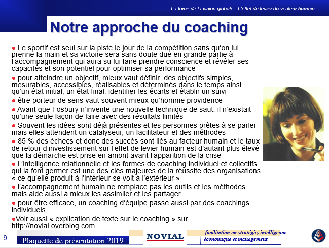 COACHING A DISTANCE et MICRO COACHING GROW SMART