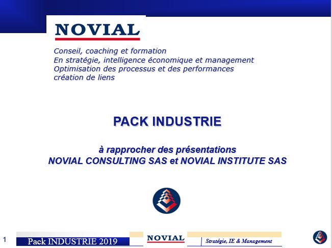 PACK INDUSTRIE NOVIAL CONSULTING & INSTITUTE