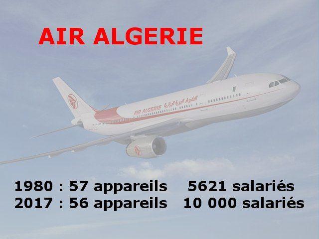 Air Algerie ou l'armée mexicaine