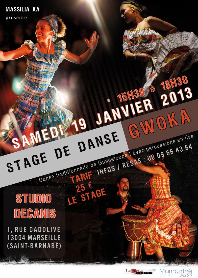 19/01/2013 - Stage de danse Gwoka - Marseille