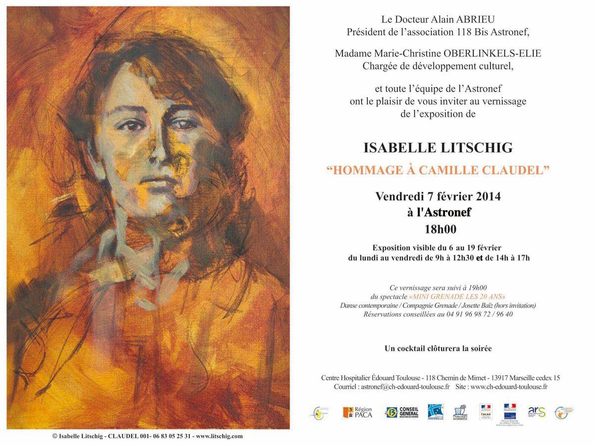 Du 06 au 19/02/14 - Exposition Isabelle Litschig - Marseille