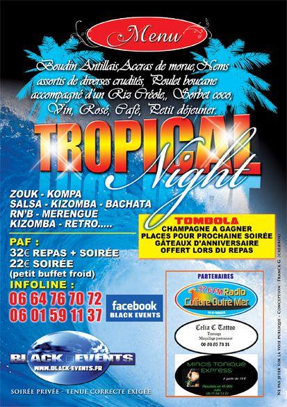 30/08/14 - Soirée Tropical Night - Marseille