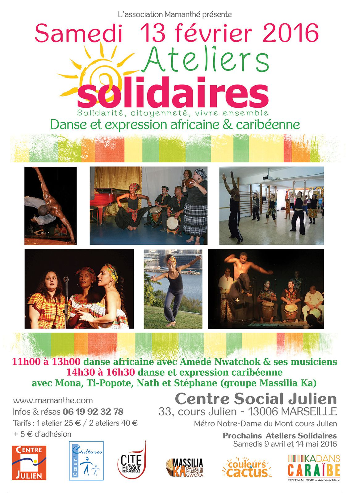13/02/16 - Ateliers Solidaires - Marseille