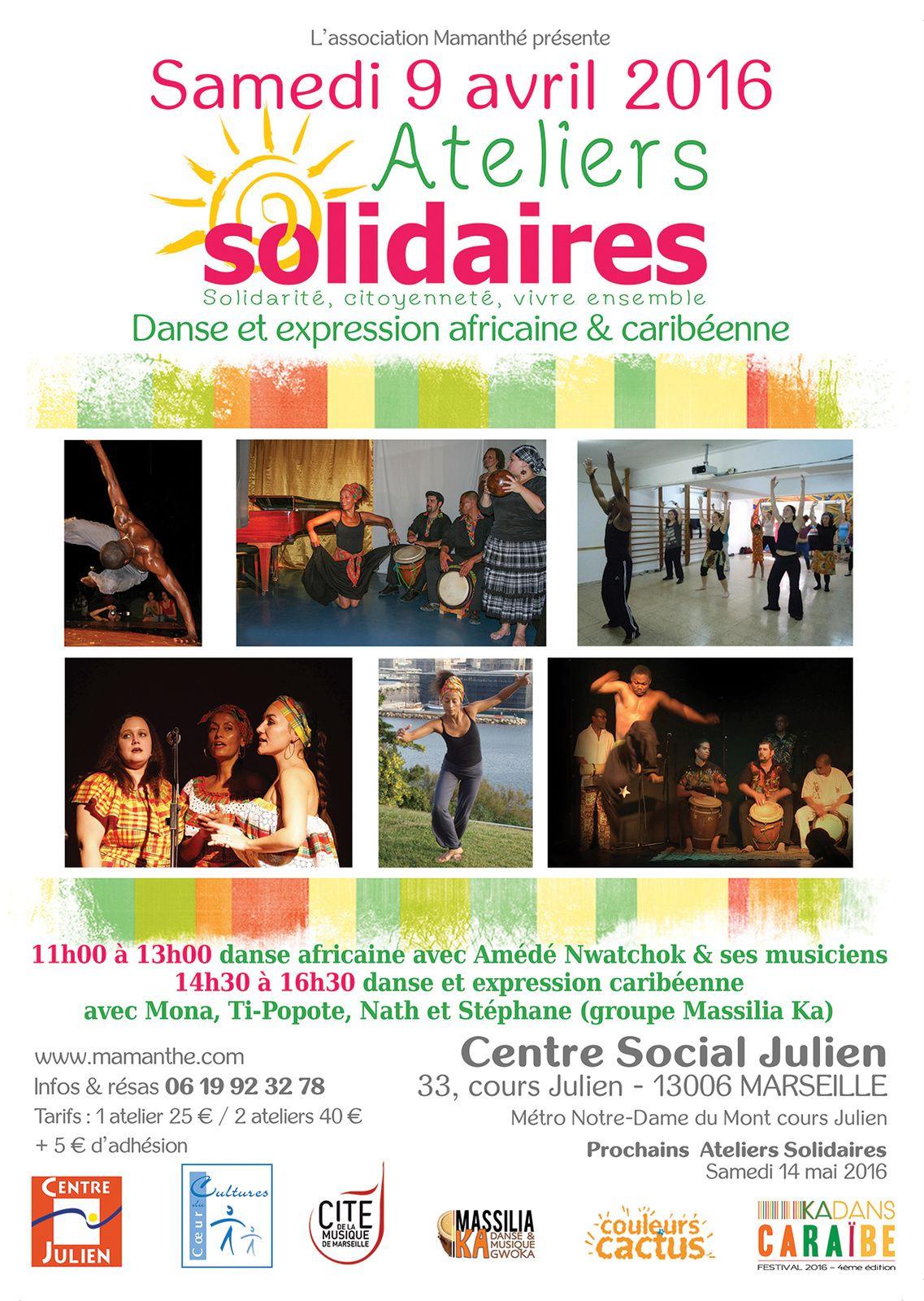09/04/16 - Ateliers solidaires - Marseille