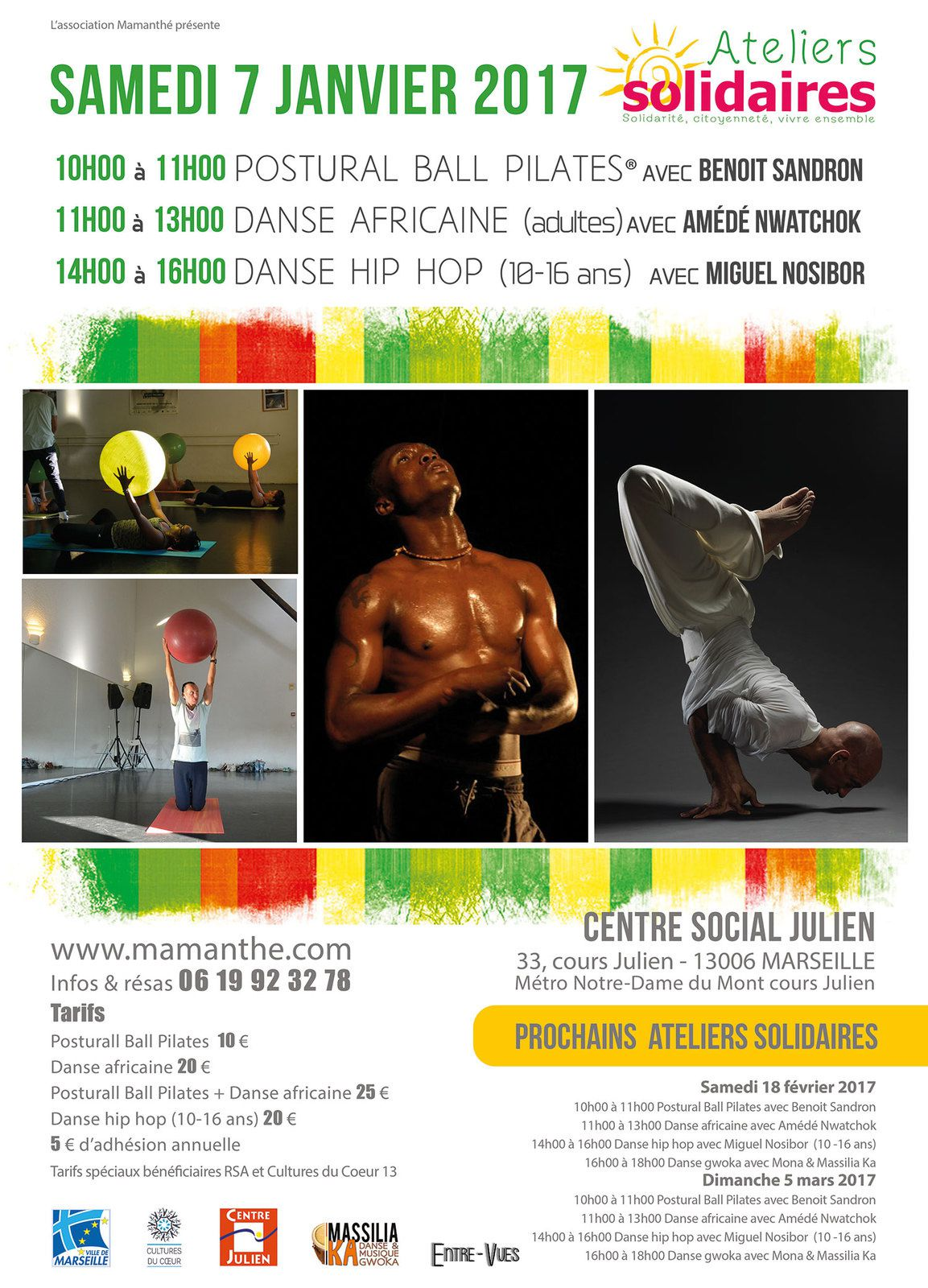 07/01/17 - Ateliers Solidaires - Marseille
