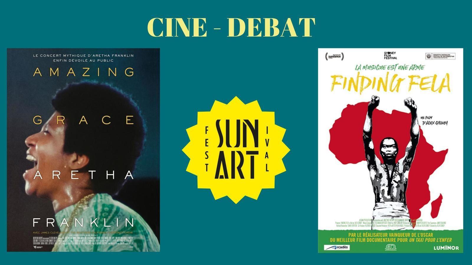 20 et 29/11/19 - Festival Sun Art : Ciné-Débats