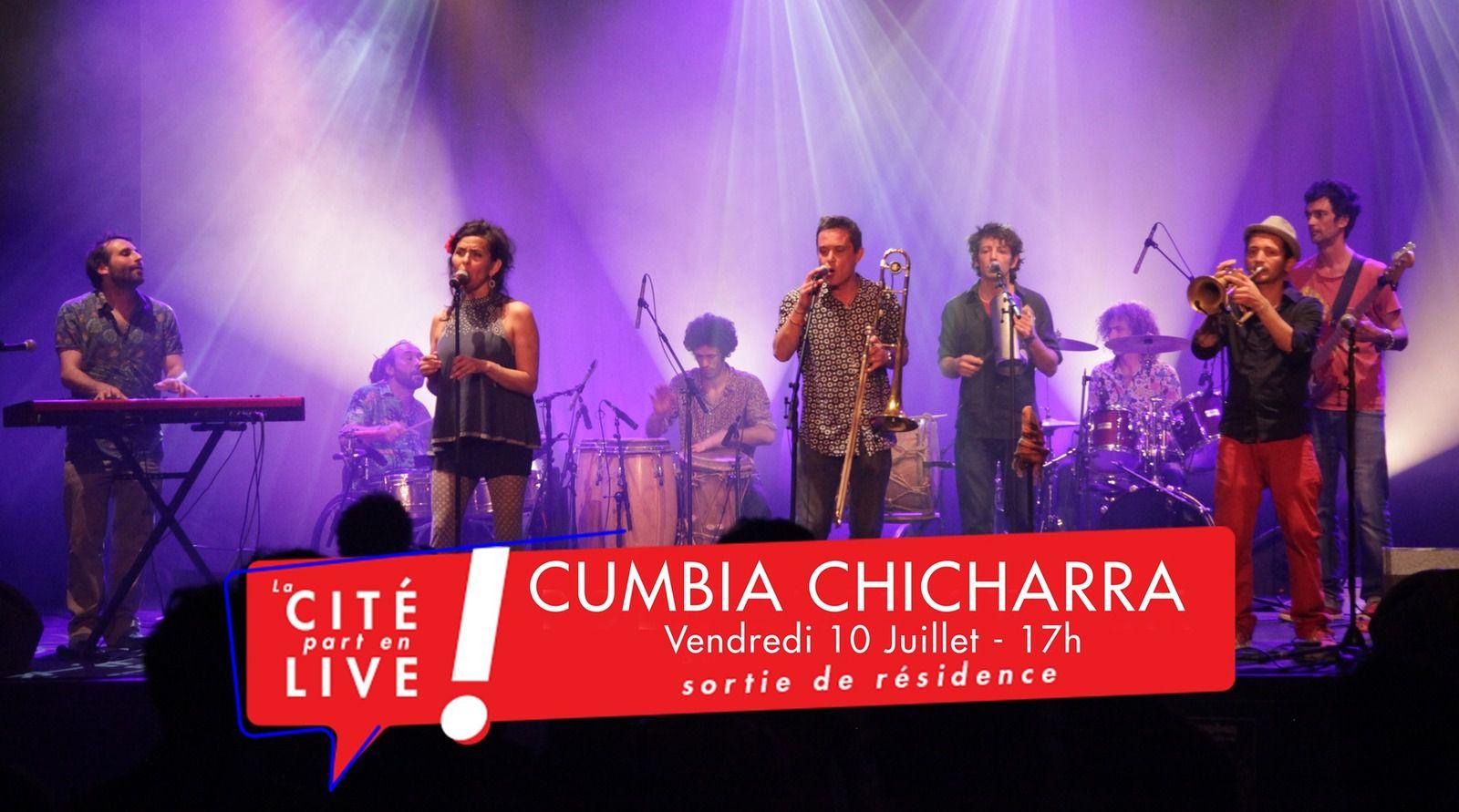 La Cité part en live ! La Cumbia Chicharra