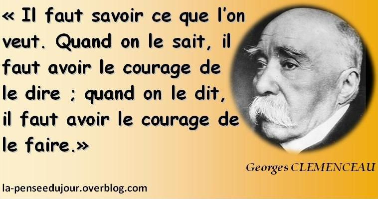 citations au sujet du courage
