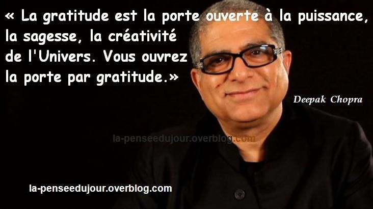 citations de Deepak Chopra