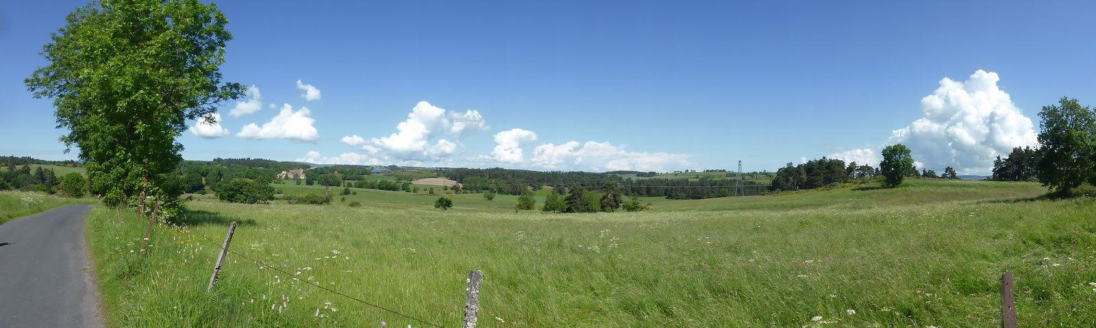 Panoramique sur le Vernet.