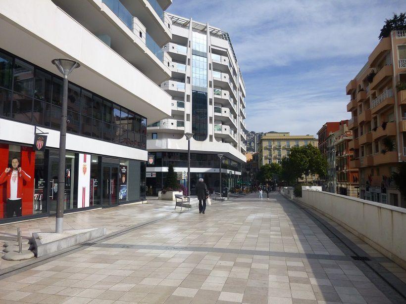 Quartier Fontvieille à Monaco.