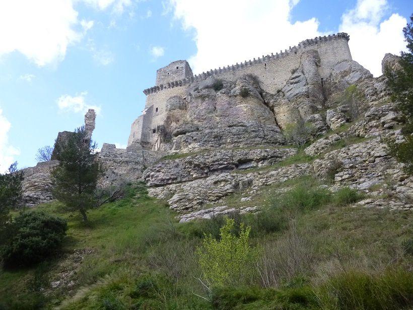 Le château de Boulbon.