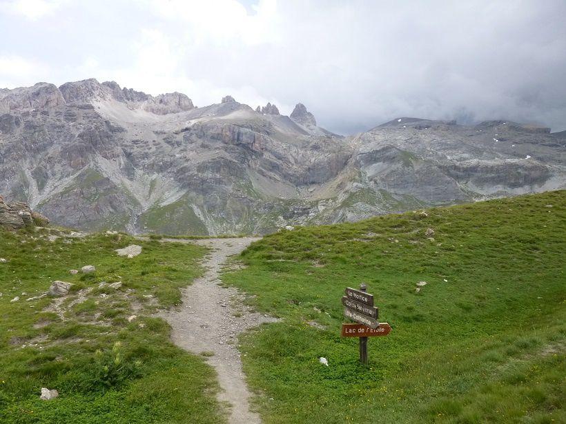 Passage délicat à flanc de montagne sur 3 kilomètres.