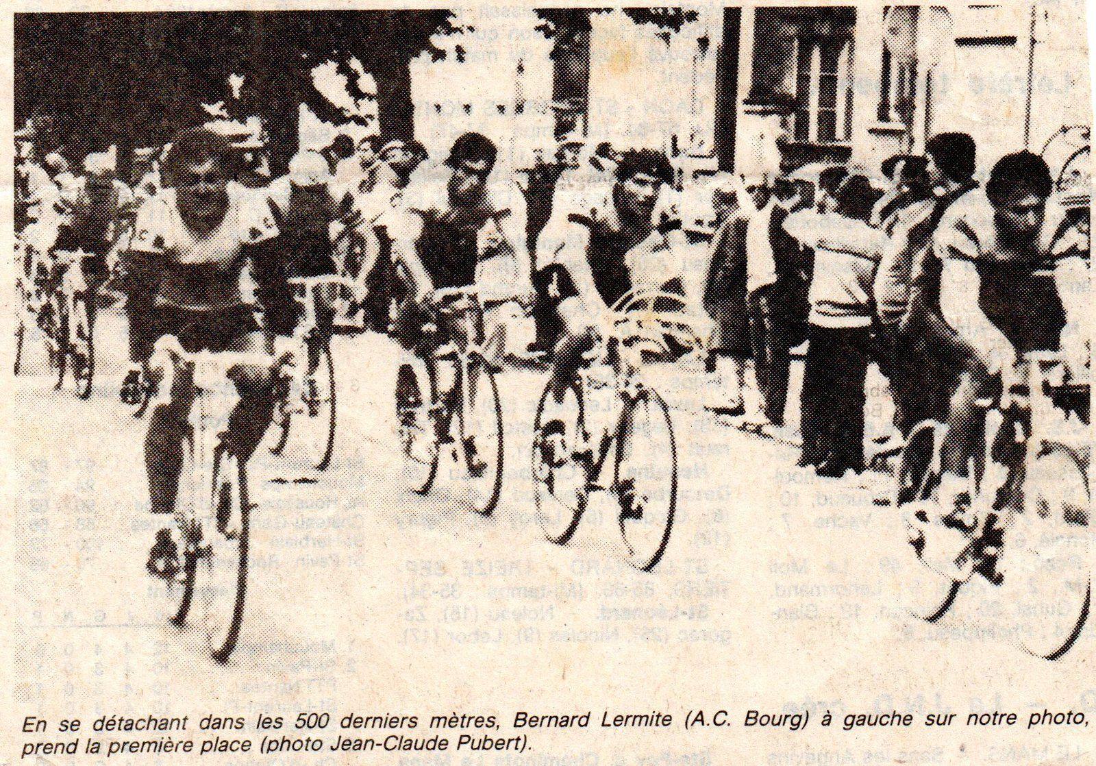 Circuit des Boulevards à la Roche sur Yon 1983.