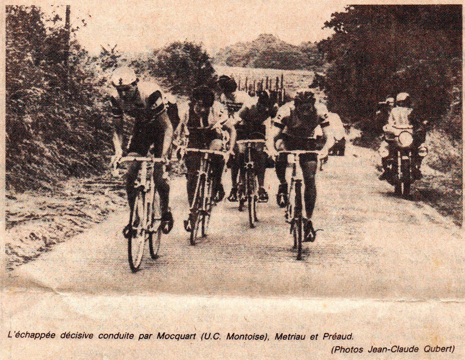 Apremont, Championnat de Vendée 1983.