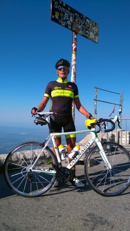 Fin juillet, Luc REVERSEAU, l'ancien triathlète de Chantonnay, a fait lui aussi une belle montée du Mont Ventoux. Il est parti de Vaison la Romaine, Malaucène, Bédoin, le Ventoux, Malaucène et Vaison la Romaine.