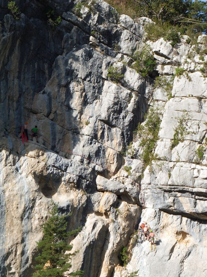 Tunnel du Baou, 650 m de long.