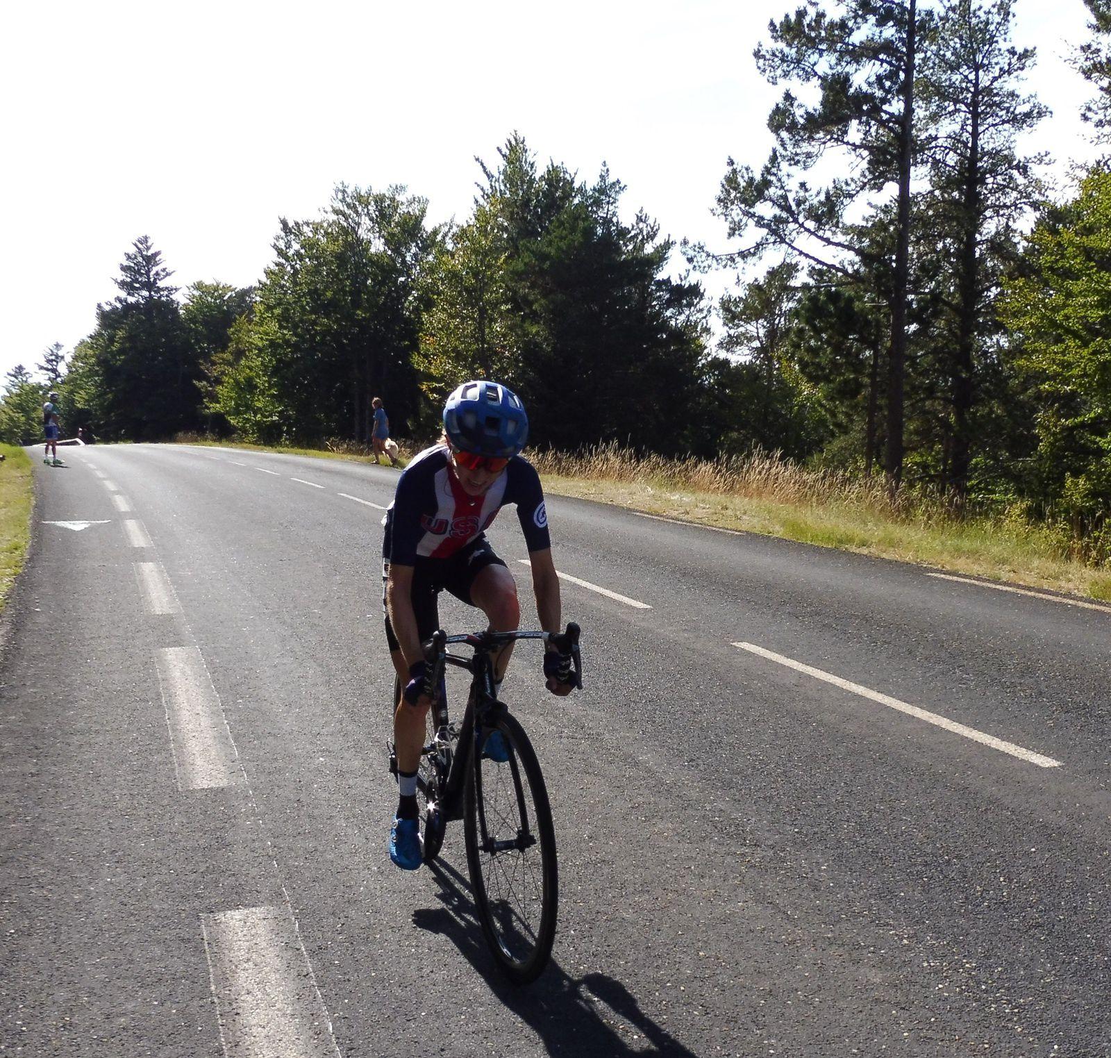 Tour Cycliste Féminin International de l'Ardèche.