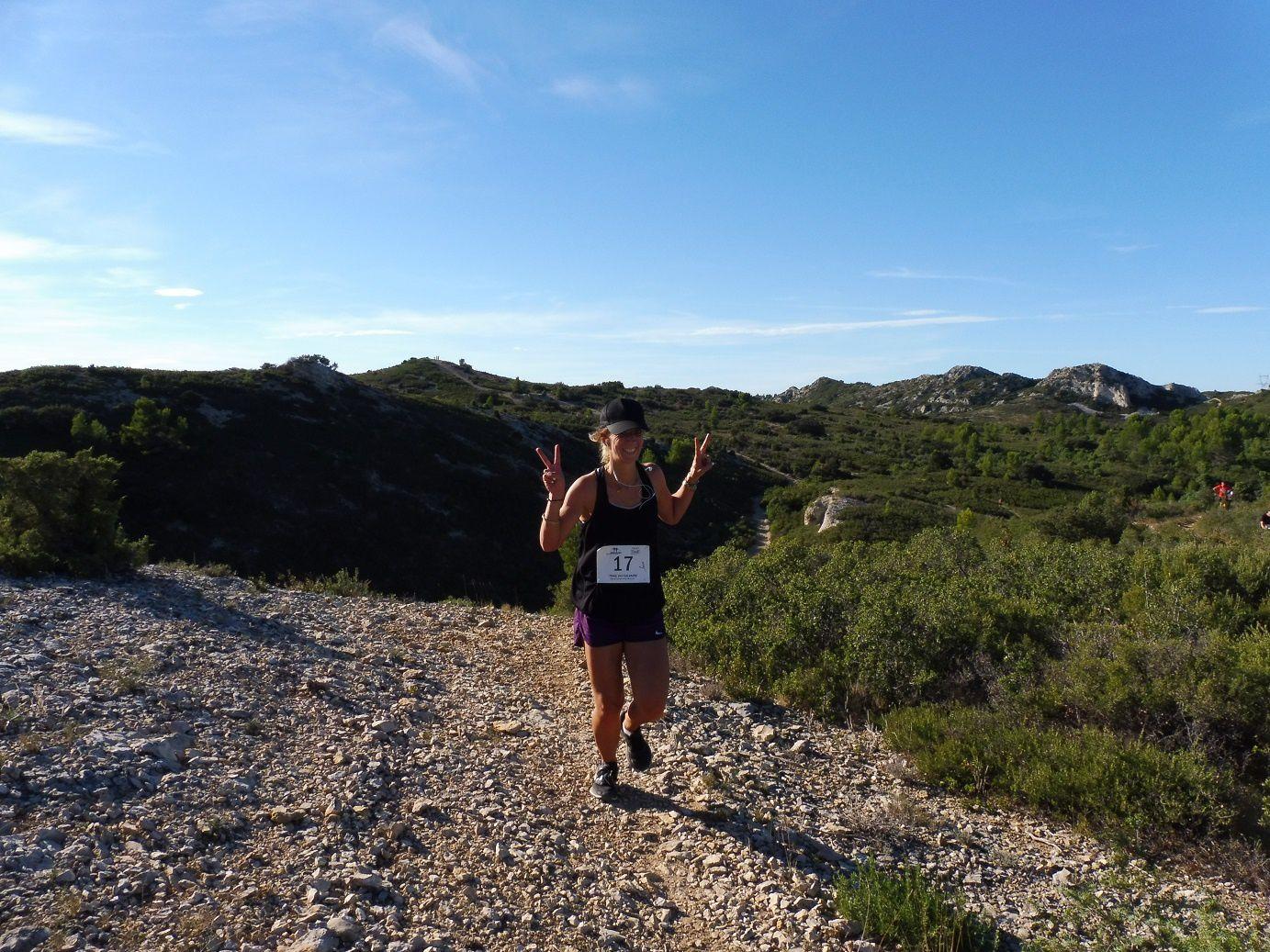 Trail du Calvaire d'Aramon (30) 2018