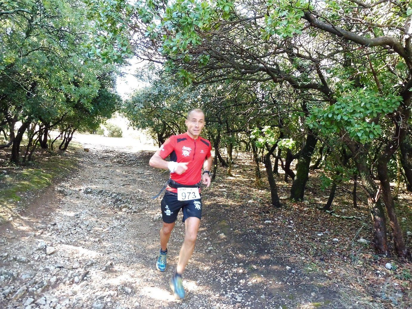 JANETTA Bastien, premier sur le 20 km.