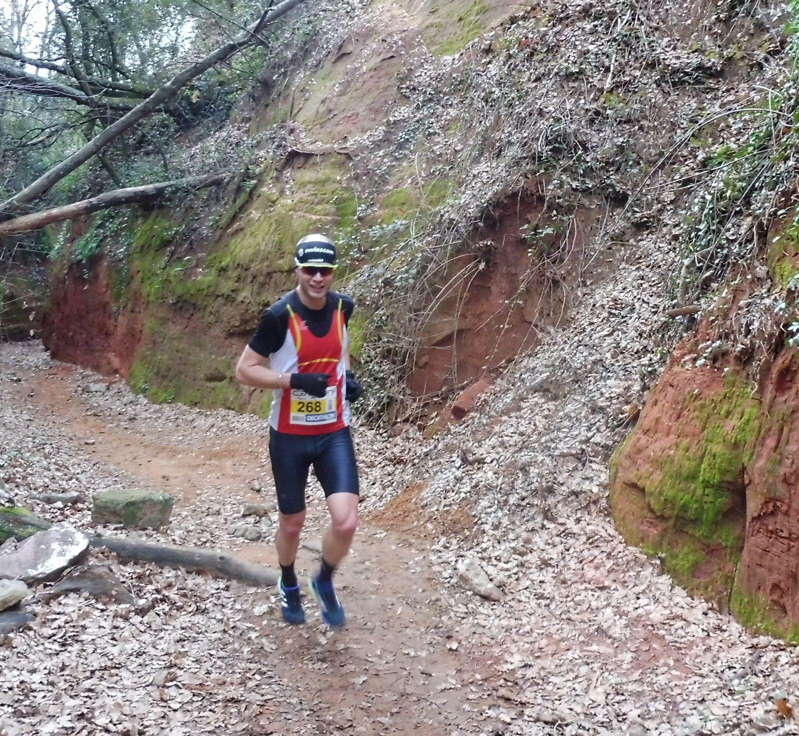 Thomas GUERIN, Le troisième du 12 km.